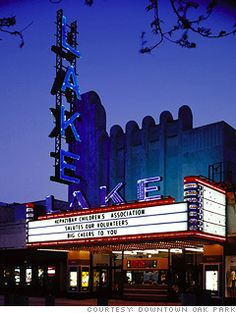 Lake Theater - Oak Park, Illinois