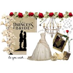 2/50 The Princess Bride, created by xniniboox on Polyvore