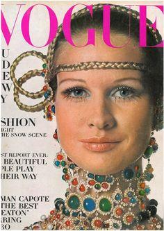 US Vogue. Francoise Rubartelli. Nov. 1968.