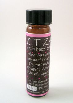Thyme Tincture ORGANIC .25 ounces concentrated by HomeBrewedSpa, Use daily or as needed to keep skin clean and beautiful. Get extra clean skin by combining the Thyme Tincture with our Charcoal Face and Body Wash. Our thyme and witch hazel tinctures are hand made and fabulous!! Take those zits down!!!