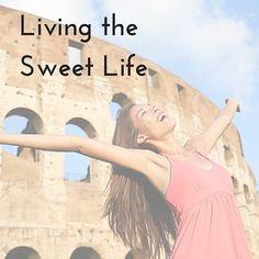 La Dolce Vita Blog Series by Donna DeRosa - Live the Sweet Life Italian Street, Sweet Life, Live, Blog, Dolce Vita, Blogging