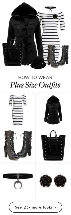 """""""Black & White for Winter!"""" by autumnwolf1965 on Polyvore featuring Superdry, Accessorize, Siggi, Mulberry and Erica Lyons"""