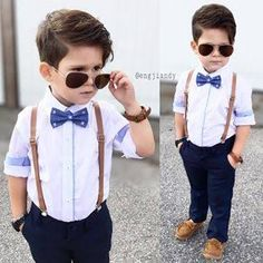 27 New ideas for baby outfits hochzeit Little Boy Outfits, Little Boy Fashion, Kids Fashion Boy, Toddler Boy Outfits, Toddler Fashion, Wedding Outfit For Boys, Wedding With Kids, Wedding Ideas, Outfits Niños