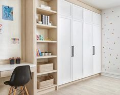 Kids Bedroom Designs, Kids Room Design, Built In Wall Units, Bed Nook, Wardrobe Storage, Bedroom Desk, Guest Room Office, Wardrobe Design, Girl Room