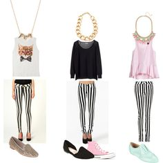 How to Wear Striped Skinnies + Back to School Outfit Ideas