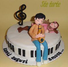 torta fidanzati in musica