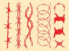 Barbed Wire Designs —- Little tattoo that I want rapped around my pinky. Tattoo Sketches, Tattoo Drawings, Body Art Tattoos, Art Sketches, Little Tattoos, Small Tattoos, Black Tattoos, Design Tattoo, Tattoo Designs
