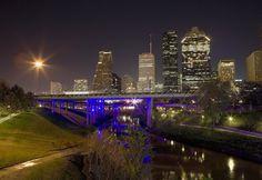 Houston, Texas - Ellen Yeates. Houston Skyline.