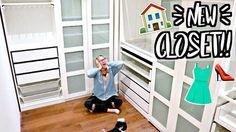 Alisha Marie: MY NEW CLOSET!!! IKEA PAX WARDROBE SYSTEM!!
