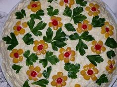 Snack Recipes, Cooking Recipes, Food Carving, Grazing Tables, Salty Cake, Food Decoration, Salad Dressing, Soup And Salad, Food Art