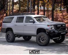 New Trucks, Lifted Trucks, Cool Trucks, Chevrolet Suburban, Chevrolet Tahoe, Yukon Truck, Lifted Chevy Tahoe, Chevy Girl, Bug Out Vehicle