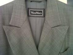 Fall Max Mara 70s Coat with Swarovski buttons