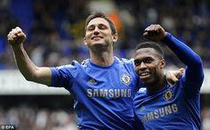 Daniel Sturridge celebrates a goal on his return with Lamps - Tottenham Hotspur 2-4 Chelsea FC