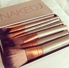 naked, makeup, and Brushes image