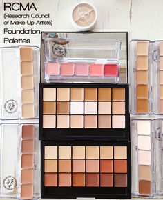 Foundation matching heaven....these palettes are all still hand poured and have been a secret of make-up artist for decades...but everyone needs to know how amazing these are: