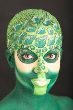 Stick art studio escuela de maquillaje artístico Por Oihane Álvarez | Face & body painting board