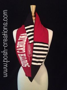 South Carolina Gamecocks Posh Finity Scarf. The Posh Finity is a continuous loop scarf that adds style to any outfit. It can help keep you