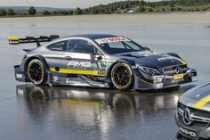 2016 Mercedes-AMG C 63 DTM car has landed. Official pics reveal striking new styling inspired by the all-new Mercedes-AMG C 63 Coupe.