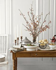 Buffet Table: Great recipes and more at http://www.sweetpaulmag.com !! @?? ?? S. Paul Magazine
