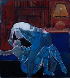 Ελ: 1996-2005, λάδι σε μουσαμά, 98Χ88εκ / En: 1996-2005, oil on canvas, 98Χ88cm- Sacaillan Edouard