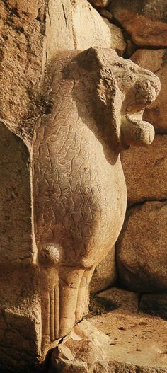 Hittite, city gate (lion door) Boğazköy-Hattuşa, 1400-1300 BC