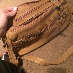 stone mountain purse tan. real leather. stone mountain  Bags Mini Bags