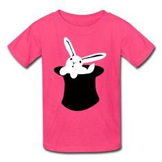 rabbit in hat MAGIC!!! T-Shirt | Spreadshirt | ID: 5422864