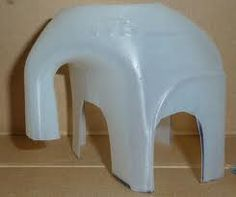 elephant made from plastic milk bottle - Google Search