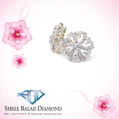 Embrace your unique beauty with this sparkling diamond earring. 14K gold with Belgium cut diamond.