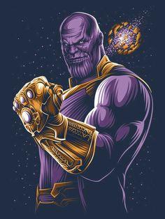 Thanos Marvel, Ms Marvel, Marvel Art, Art And Illustration, Comic Kunst, Comic Art, Super Anime, Photo Images, Avengers Wallpaper