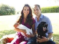 HIS OFFICIAL PORTRAIT WAS SHOT BY GRANDPA  photo | Kate Middleton, Prince William