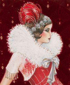 Art Deco Lady - 2. Обсуждение на LiveInternet - Российский Сервис Онлайн-Дневников