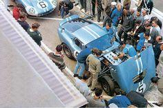 Shelby Cobra Daytona #5 - Gurney / Bondurant - Le Mans 1964