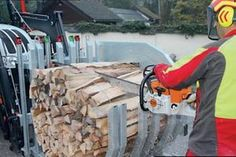 Praktický test HAF píly: Jednoducho zviažte a píšte Firewood, Texture, Crafts, Pictures, Simple, Timber Wood, Safety, Surface Finish, Woodburning
