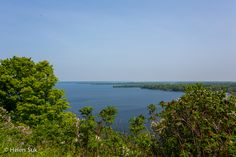 view of the bay of quinte from lake on the mountain