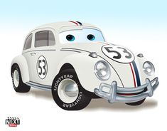 Herbie: 7 Famous Movie Cars Redone As Pixar Characters