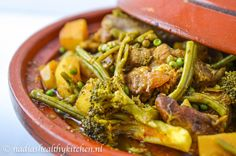 tajine lamsvlees What To Cook, Seaweed Salad, Green Beans, Broccoli, Good Food, Food And Drink, Keto, Vegetables, Ethnic Recipes
