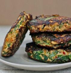 Curried Tuna Patties | 13 High Protein Low Carb Snacks to Keep You Fit This New Year