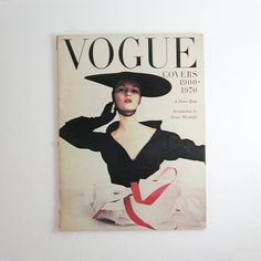 Vogue Covers - Vintage Large Softcover Book 24 Posters Suitable for Framing - Fashion Home Decor - Collectible Posters - Fashion Photography