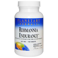 Planetary Herbals, Rehmannia Endurance, 637 mg, 150 Tablets iherb Female Hormone Imbalance, Calcium Phosphate, Health And Nutrition, Women's Health, Serving Size, Healthy Life, Herbalism, Vitamins, Herbs