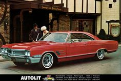 1965 Buick Wildcat - was offered in a record 10 models, with 4 different body styles - 85,000 units were delivered