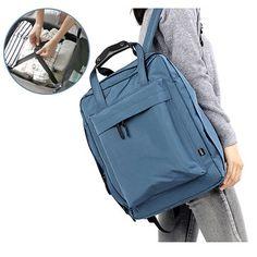 Travel Waterproof Nylon Storage Backpack Outdoor Women Men Unisex Handbag - Newchic Mobile.