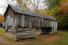 Historic Old Barn | Historic Log Barn | Flickr - Photo Sharing!