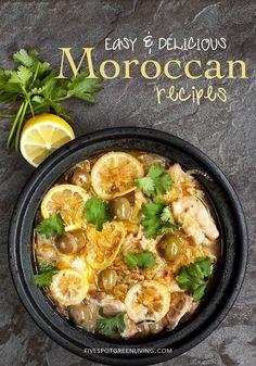 Easy and Delicious Moroccan Recipes