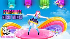 Starships by Nicki Minaj will be on Just Dance 2014!