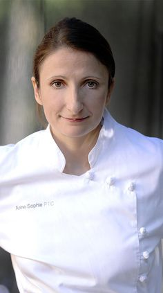 The only woman in France to have obtained three Michelin stars, Anne-Sophie PIC