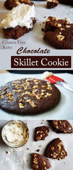 All you need is a non-stick skillet to make the best Chocolate Cookie you've ever had!