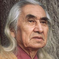 Chief Dan George, Geswanouth Slahoot, was a chief of the Tsleil-Waututh Nation, a Coast Salish band located on Burrard Inlet in North Vancouver, British Columbia, Canada. He was also an author, poet, and an Academy Award-nominated actor. (7/24/1899 - 9/23/1981)