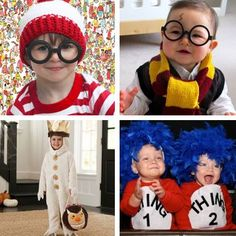 Dressing your little ones up for Halloween? Look to storybook characters for DIY costume inspiration! We just LOVE these ideas #halloween #costumes #DIY #kids #crafts #robertscrafts