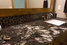 Often overlooked during home renovations, give some love your main floor bathroom – it's a good way to make a first-impression when hosting company Bathroom Renovations, Powder Room, Construction, Flooring, Home Decor, Building, Decoration Home, Room Decor, Powder Rooms